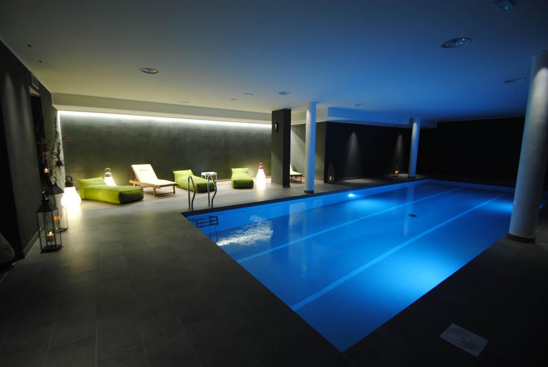 SPA con piscina riscaldata